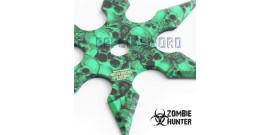 Set 3 Shuriken Zombie Hunter Etoile ZB-039GN