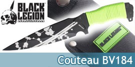 Couteau Black Legion BV184 United Cutlery