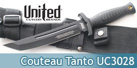 Combat Commander Couteau Tanto UC3028 United Cutlery
