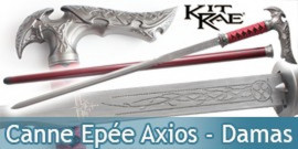 Canne Epee Forgé Kit Rae Axios Damas KR0056D