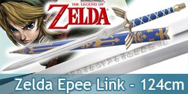 Zelda Epee de Link + Fourreau 124cm