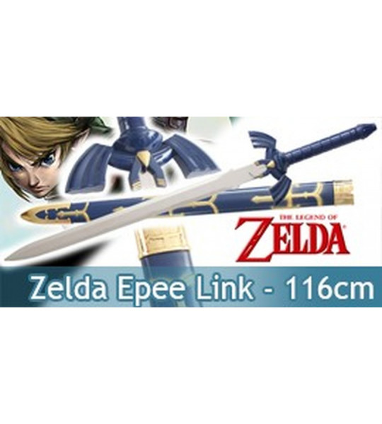 Zelda Epee de Link + fourreau 116cm
