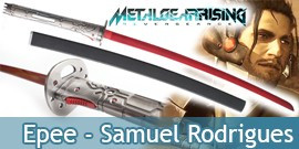 Katana Epee Samuel Rodrigues Metal Gear Solid