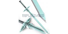 Sword Art Online Epée Kirito Repulser et Elucidator Latex Mousse