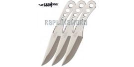 Set 3 Couteaux de Lancer XL - Gil Hibben - GH455