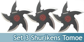 Set 3 Shurikens Etoile Perfect Point 90-37-3B