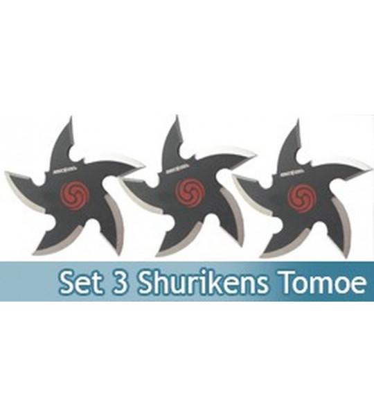 Set 3 Shurikens Etoile Perfect Point 90-37-3B