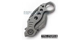 Couteau Karambit Gris Tac Force TF-578SW
