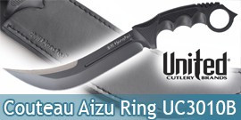 Couteau Honshu Aizu Ring Black UC3010B United Cutlery