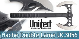 Hache Double Lame M48 UC3056 United Cutlery