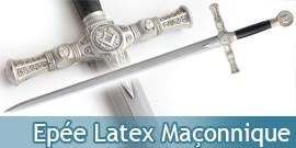 Epée de combat Maconnique Latex
