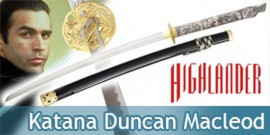 Highlander Katana Duncan Macleod Replique Epee