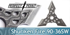 Shuriken Etoile de Lancer Perfect Point 90-36SW