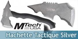 Hache Hachette Tactique Silver MT-AXE13SW