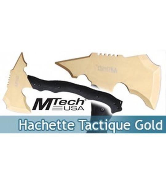 Hache Hachette Tactique Gold MT-AXE13GD