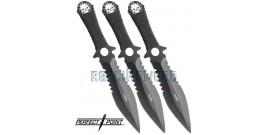 Set 3 Couteaux Perfect Point PP-096-3LBK