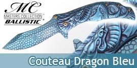 Couteau Dragon Bleu MC-A014BL Master Cutlery