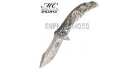 Couteau Dragon Silver MC-A014CH Master Cutlery