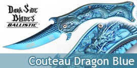 Couteau Dragon Blue DS-A019BL Master Cutlery