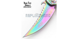 Couteau Dragon Rainbow DS-A019RB Master Cutlery