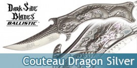 Couteau Dragon Silver DS-A019CH Master Cutlery