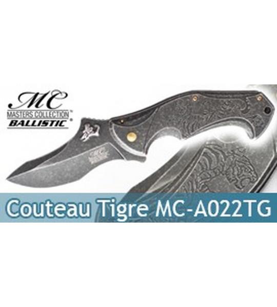 Couteau de Poche Tigre MC-A022TG Master Cutlery