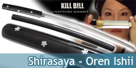 Kill Bill Shirasaya Oren Ishii Katana Epee