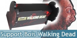 Support en Bois The Walking Dead Officiel MC-WD-ST Presentoir
