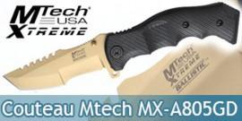 Couteau Pliant Mtech Xtreme MX-A805GD