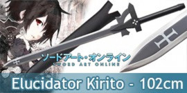 Sword Art Online Epée Kirito's Elucidator 102cm