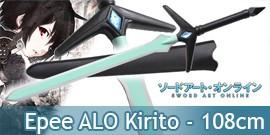 Sword Art Online Epee Vert Kirito ALO Replique 108cm