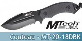Couteau de Chasse MT-20-18DBK Master Cutlery