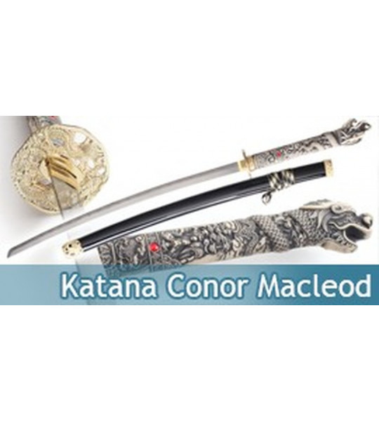 Katana Conor Macleod Epee Replique Sabre Highlander