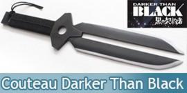 Poignard de Hei Manga Darker Than Black Couteau