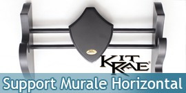 Support en Bois Mural Presentoir KIT RAE Epee KR0041