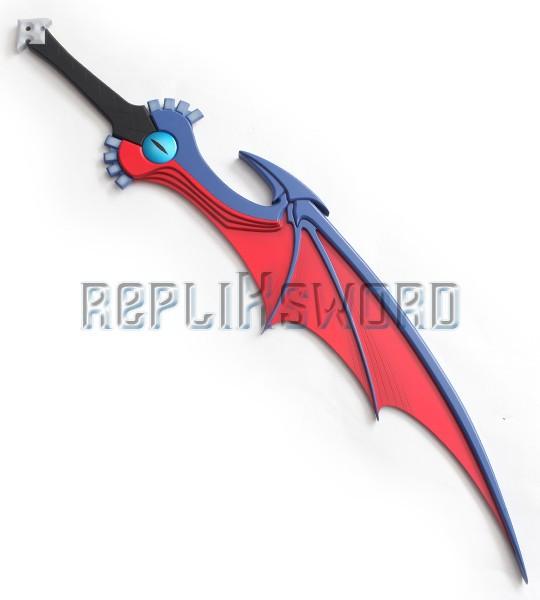 Kingdom Hearts Riku Epee Soul Eater Keyblade