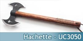 Hachette Double Lame Black UC3050 Hache