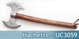 Hachette Double Lame Silver UC3059 Hache