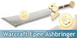 Ashbringer Epee Warcraft Replique Sabre