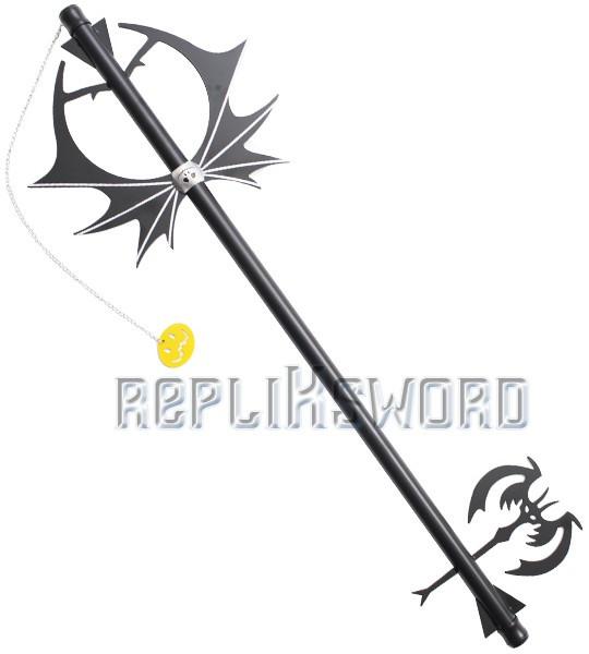 Kingdom Hearts Pumpkin head Keyblade Halloween Epee