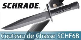 Couteau de Chasse Schrade SCHF6B Poignard