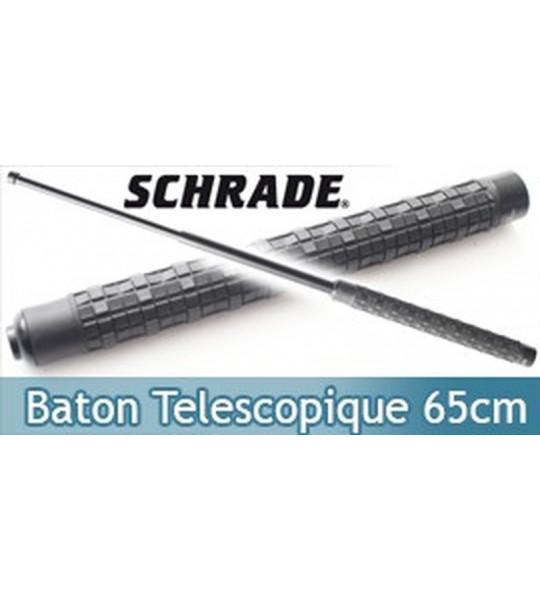 Baton Telescopique Matraque Acier Schrade SCBAT26H