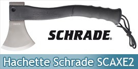 Hachette Schrade SCAXE2 Hache