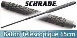 Baton Telescopique Schrade SCBAT26 Matraque 26cm