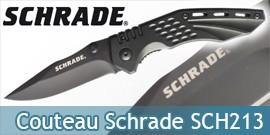Couteau Pliant Schrade SCH213