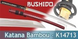 Bushido - Katana Bambou Bordeau - Maru 1045