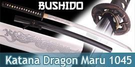 Bushido - Katana Forgé Dragon - Maru 1045