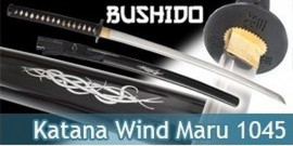 Bushido - Katana Forgé Wind - Maru 1045