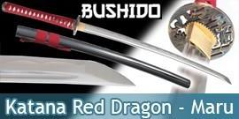 Bushido - Katana Forgé Red Dragon - Maru 1045