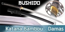 Bushido - Katana Forgé Bambou - Damas